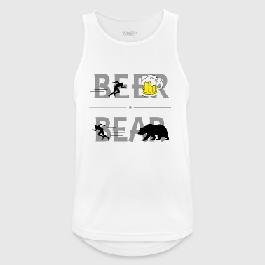 Beer Bear Beer Drinker Drinking Gift Funny Malle - Men's Breathable Tank Top