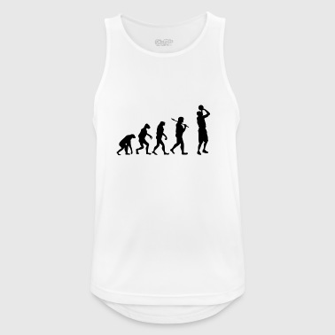 Evolution Basketball Sport Geschenk Basketballer - Männer Tank Top atmungsaktiv