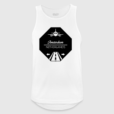 Amsterdam, Netherlands - Men's Breathable Tank Top