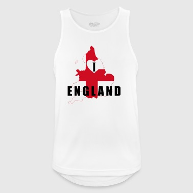 I Love England - great gift idea - Men's Breathable Tank Top