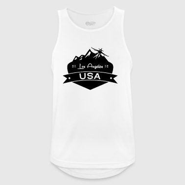 Los Angeles USA - Men's Breathable Tank Top