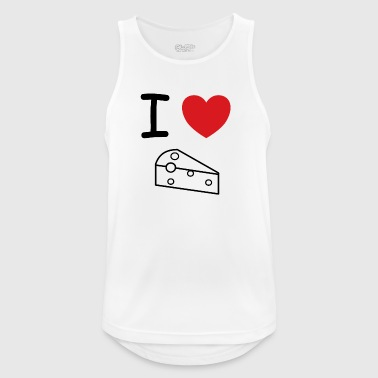 I love cheese milk gift idea - Men's Breathable Tank Top