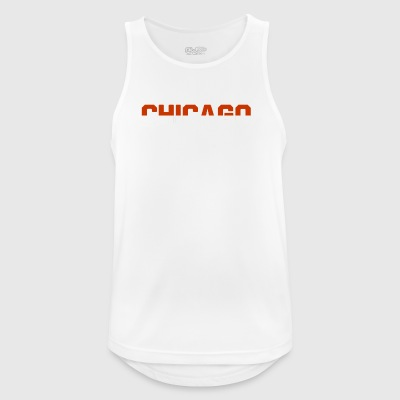 Chicago football - Men's Breathable Tank Top