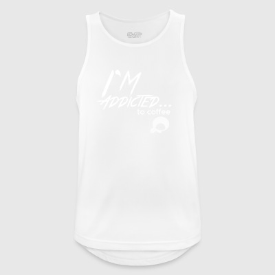 Coffee - Caffeine - Coffee Lover - Gift - Men's Breathable Tank Top