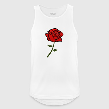 rose - Men's Breathable Tank Top
