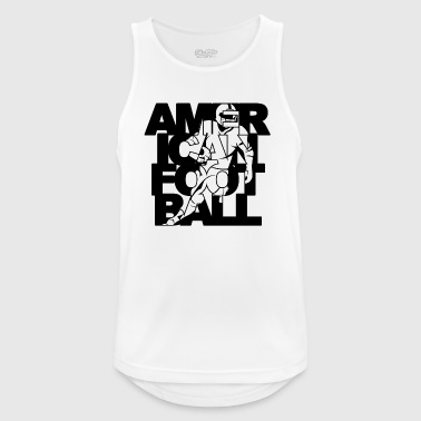 American Football / Exclusive Football Design - Men's Breathable Tank Top