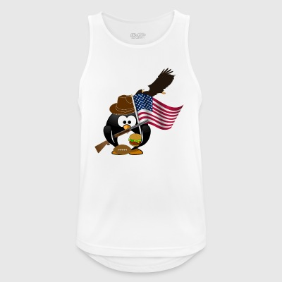 American penguin - Men's Breathable Tank Top