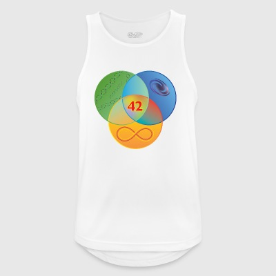 Venn Guide to the Galaxy Colour - Men's Breathable Tank Top