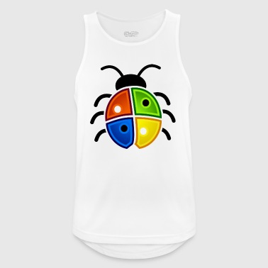 Windows Ladybug - Pustende singlet for menn