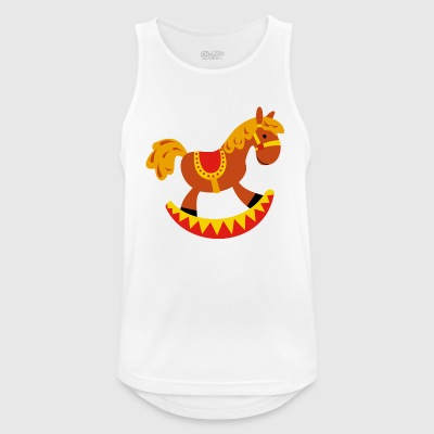 rocking horse - Men's Breathable Tank Top