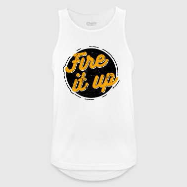 Fire it up - Men's Breathable Tank Top