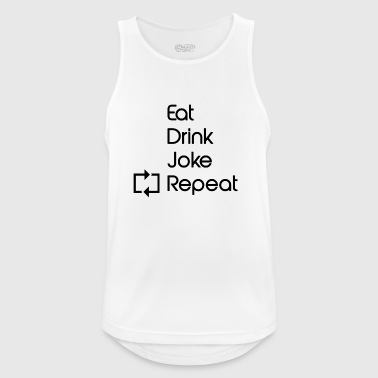 repeat 1 - Men's Breathable Tank Top