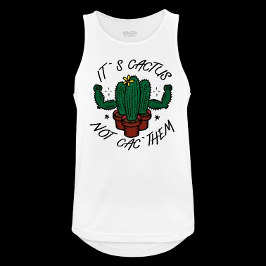 Cactus Power - Men's Breathable Tank Top
