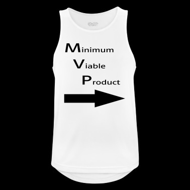 Minimum for Viable Product for a buddy - Men's Breathable Tank Top