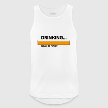 Party - Männer Tank Top atmungsaktiv