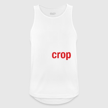 Oh crop - Men's Breathable Tank Top