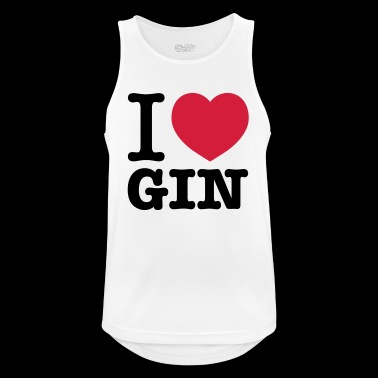 I love Gin - Men's Breathable Tank Top