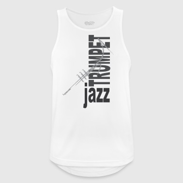Jazz Trumpet - Men's Breathable Tank Top