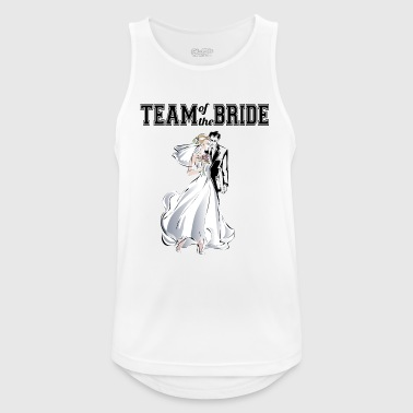 Team of the Bride - Andningsaktiv tanktopp herr