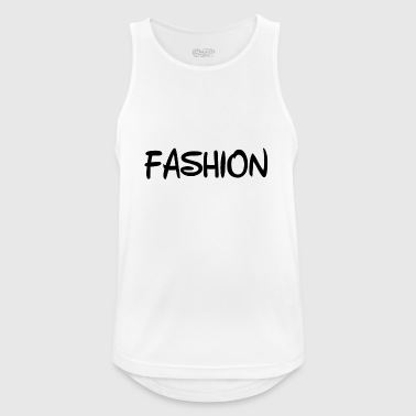 Fashion Text - Men's Breathable Tank Top