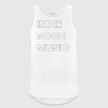 INDIE ROCK MUSIC - Men's Breathable Tank Top