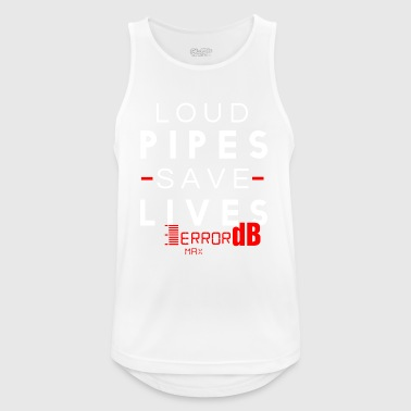 LOUD PIPES SAVE LIVES - Men's Breathable Tank Top