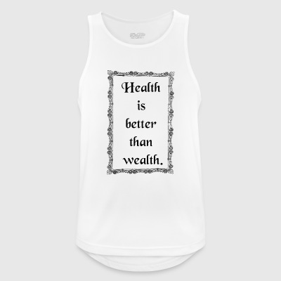 health - Men's Breathable Tank Top