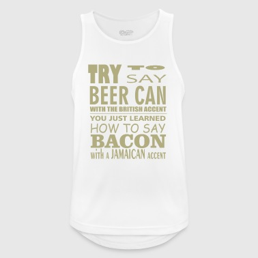 Beer can comic - Men's Breathable Tank Top