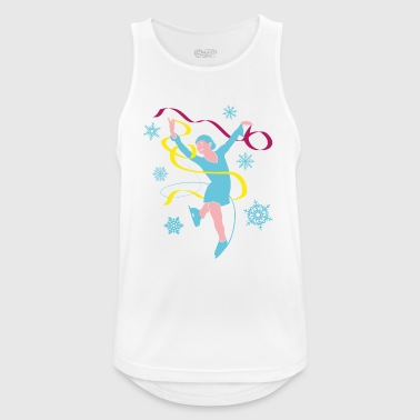 Ice Princess in ice dancing and ice skating - Men's Breathable Tank Top