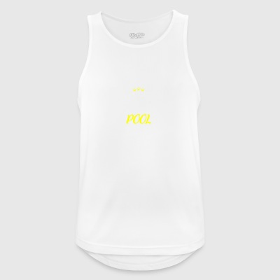 Distressed - OUTSTANDING POOL MOM - Men's Breathable Tank Top