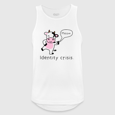 Gift cow funny irony - Men's Breathable Tank Top