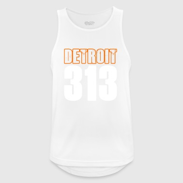 Detroit 313 Shirt - Men's Breathable Tank Top