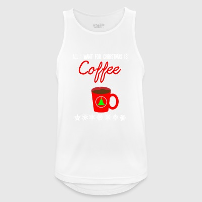 Christmas gift present Xmas advent coffee - Men's Breathable Tank Top