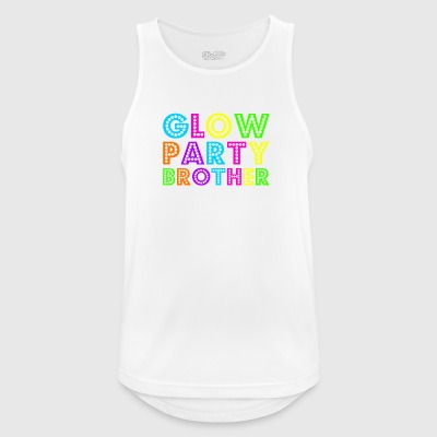 Glow Party Brother - Men's Breathable Tank Top