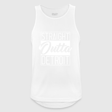 Straight Outta Detroit - Men's Breathable Tank Top