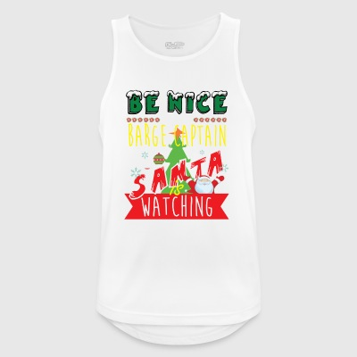 Barge Captain Christmas Gift Idea - Men's Breathable Tank Top
