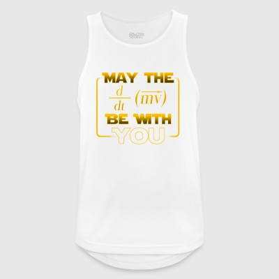 May the power be with you - gift - Men's Breathable Tank Top