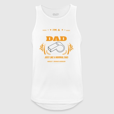 Referee Dad Shirt Gift Idea - Men's Breathable Tank Top