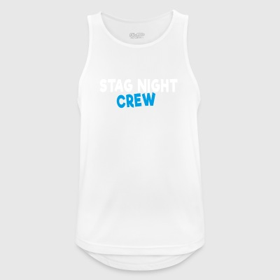 Stag Night Crew - Men's Breathable Tank Top