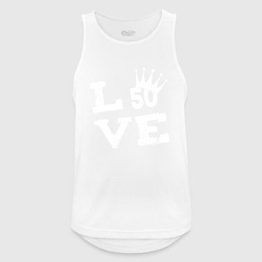 50th birthday 50th love gift - Men's Breathable Tank Top