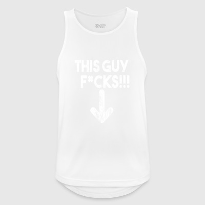 this guy f * ck !!! - Men's Breathable Tank Top