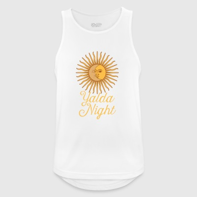 Yalda Night Sun Moon Shab-E Yalda Iranian Holiday - Men's Breathable Tank Top
