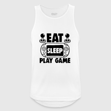 Eat sleep play game - Men's Breathable Tank Top