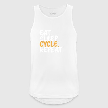 CYCLING Eat Sleep - Men's Breathable Tank Top