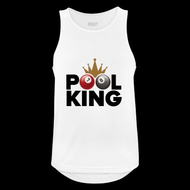 Pool King - Männer Tank Top atmungsaktiv