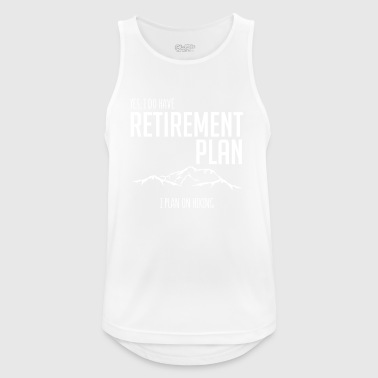 Climbing - mountains - pension - gift - Men's Breathable Tank Top