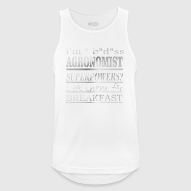 agronoom - Mannen tanktop ademend