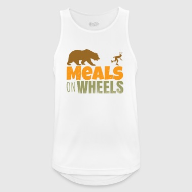 inlineskate - meals on wheels - Men's Breathable Tank Top