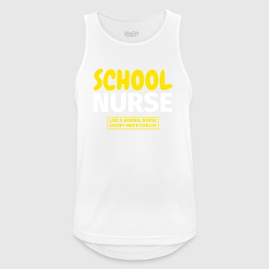 school nurse - Men's Breathable Tank Top