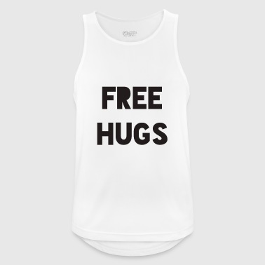 FREE HUGS - Men's Breathable Tank Top